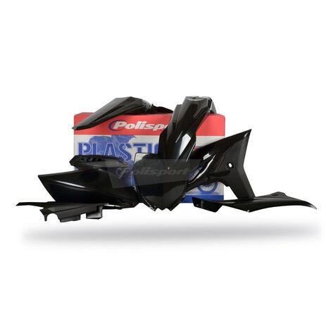 _Polisport Plastik Kit Yamaha YZ 250 F 10-13 Schwarz | 90260 | Greenland MX_