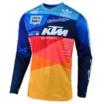 _Jersey Troy Lee Designs GP Air Jet Blau/Orange | 30466300 | Greenland MX_