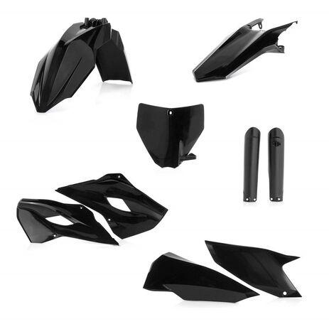 _Acerbis Full Plastik Kit Husqvarna TC 125/250 FC 250/350/450 14-15 Schwarz | 0017706.090.015 | Greenland MX_