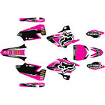_Komplett Aufkleber Kit Yamaha YZ 125/250 15-20 Fox Edition Pink   SK-YYZ1252501520FP-P   Greenland MX_