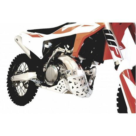 _Motorschutzplatte mit Auspuff  Schutzkappe P-Tech  KTM EXC 250/300 20-..HVA TE 250/300 20-..   PK016   Greenland MX_