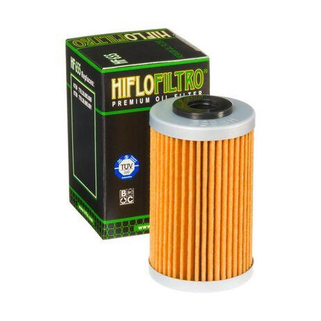 _Hiflofilto Ölfilter KTM EXC-F 250 07-13 SX-F 250 06-12 Husaberg FE 390 10-12 FE 450 09-14 | HF655 | Greenland MX_