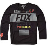 _Fox Exploder LS 2016 Youth T-Shirt Schwarz | 16353-001-Y | Greenland MX_