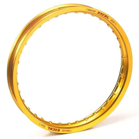 _Felge Excel Vorderrad 21 x 1.60 36 H Japanisch /KTM /Husqvarna 14-..  Gold | CG408 | Greenland MX_