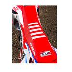 _TJ Sitzbankbezug Honda CRF 250 R 18-19 CRF 450 R/X 17-19 Team Usa Rot/Weiß | ST17CRFBTSR | Greenland MX_