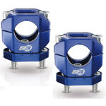 _S3 Aluminium Lenkerklemme 28 mm Blau | HA-CL13-U | Greenland MX_