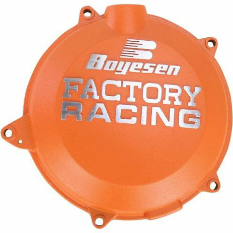 _Boyesen Kupplungsdeckel KTM SX-F/EXC-F 250/350 16-17 Husqvarna FC 250/350 16-17 Orange  | BY-CC-44CO | Greenland MX_
