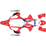 _Komplett Aufkleber Kit Honda CRF 450 R 2021 HRC | SK-HCRF45021HRCRED-P | Greenland MX_