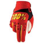 _100% Airmatic Handschuhe Rot/Gelb | 10004.020 | Greenland MX_