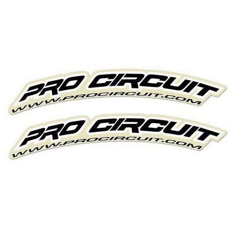 _Pro Circuit Aufkleber Kotflügel Vorne Mini Bikes (50cc-100cc)   DC0005M   Greenland MX_