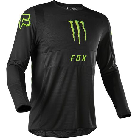 _Fox 360 Monster Edition Jersey Schwarz | 24384-001 | Greenland MX_