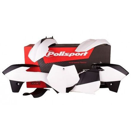 _Polisport Plastik Kit KTM 85 2013-14 Weiß | 90556 | Greenland MX_