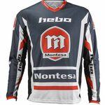 _Jersey Hebo Montesa Classic III | HE2163G-P | Greenland MX_