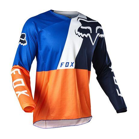 _Fox 180 Lovl Special Edition Jersey Orange/Blau | 26526-592 | Greenland MX_