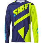 _Shift Schwarz Label Mainline Jersey Gelb Fluo | 18764-130 | Greenland MX_