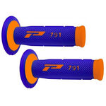_Pro Grip 791 Dual Griffe Blau/Orange Fluo | PGP-791BLOR | Greenland MX_