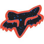 _Fox Van Splatter Sticker Orange/Blau (44 mm) | 14899-592-OS | Greenland MX_