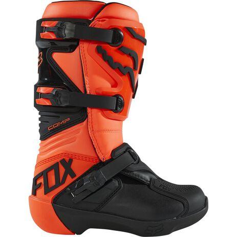 _Kinder Stiefel Fox Comp Orange Fluo | 27689-824 | Greenland MX_