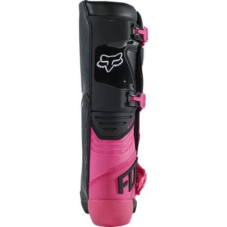 _Damen Stiefel Fox Comp Schwartz/Rosa | 27690-285 | Greenland MX_
