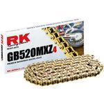 _Super Verstärkt Kette RK 520 MXZ4 120 Glieder Gold | HB752033120G | Greenland MX_