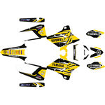 _Komplett Aufkleber Kit Yamaha YZ 125/250 15-20 Retro Edition Yellow   SK-YYZ1252501520TY-P   Greenland MX_