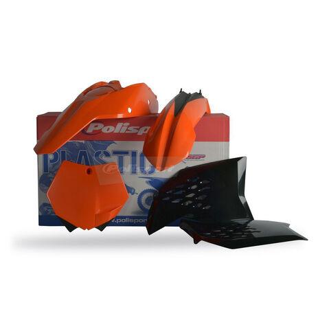 _Polisport Plastik Kit KTM SX 07-10 SXF 07-10 EXC 08-11 EXCF 08-11 | 90121 | Greenland MX_