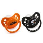 _KTM Schnuller Set Orange und Schwarz | 3PW1770700 | Greenland MX_