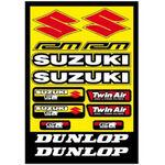 _Suzuki Aufkleber Set | GK-80408 | Greenland MX_