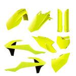 _Plastik Satz Komplett Kit Polisport KTM SX 125/150 SX-F 250/350/450 16-18 Gelb Fluor | 90740 | Greenland MX_