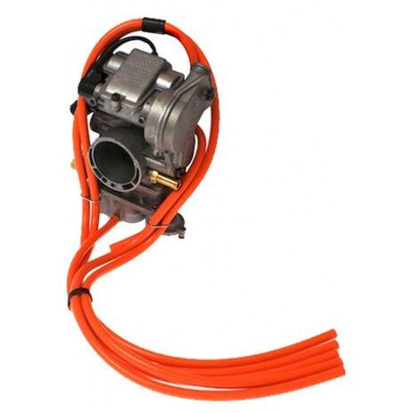 _4MX Vergaser Schläuche Kit 2 Takt Orange  | 4MX-CVOR | Greenland MX_