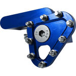 _Apico Gefertigte Klappraste für Fußbrems Blau | AP-BPFTIPA | Greenland MX_