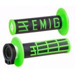 _ODI Emig V2 Lock-On Griffe 2T Schwarz/Grün | H32EMBN | Greenland MX_