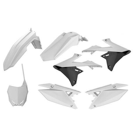 _Polisport Suzuki RMZ 450 18 Plastik Kit Weiß   90764   Greenland MX_