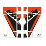 _Blackbird Replica Trophy 2020 Kühlergitter Aufkleber Kit KTM SX/SXF 19-.. EXC 20-.. | A503R19 | Greenland MX_