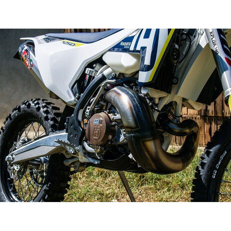 _Fresco Raw Auspuff KTM EXC/SX 250/300 17-19 Husqvarna TE 250/300 17-19 | FEX-KT2517RW | Greenland MX_
