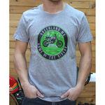 _GMX Heritage T-Shirt Grau | PU-TGMXHRGY | Greenland MX_