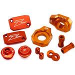 _Zeta Racing Zubehör-Kits Aluminium KTM EXC/EXC-F 250 06-.. SX 250 06-12 SX-F 250 07-12 Orange   ZE51-2433   Greenland MX_