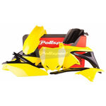 _Polisport Suzuki RMZ 250 10-18 Plastik Kit OEM 14-16   90626   Greenland MX_