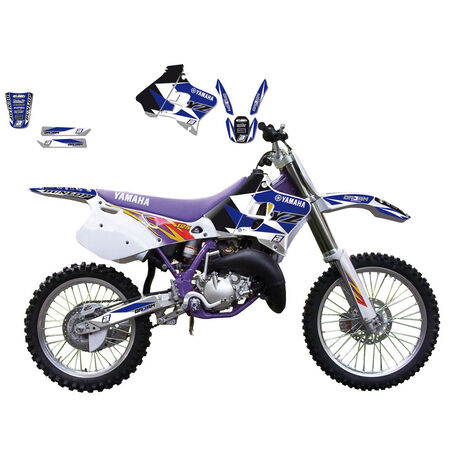 _Blackbird Aufkleber Kit Yamaha YZ 125/250 93-95 | 2236E | Greenland MX_