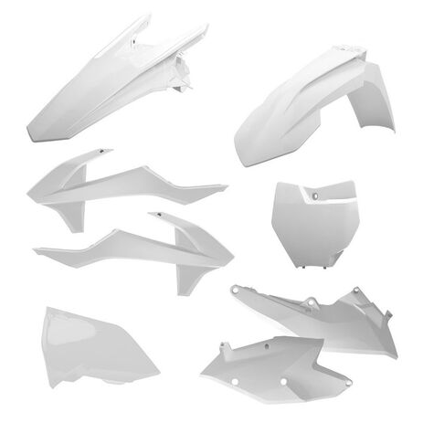 _Polisport Plastik Kit KTM EXC/EXC-F 17 Weiß   90708   Greenland MX_
