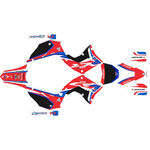 _Komplett Aufkleber Kit Restyling Polisport Honda CR 125 R 02-07 | SK-CR125PLRKBK-P | Greenland MX_