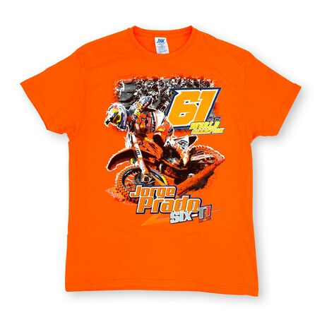 _Jorge Prado Action T-Shirt Orange | JP61-200OR | Greenland MX_