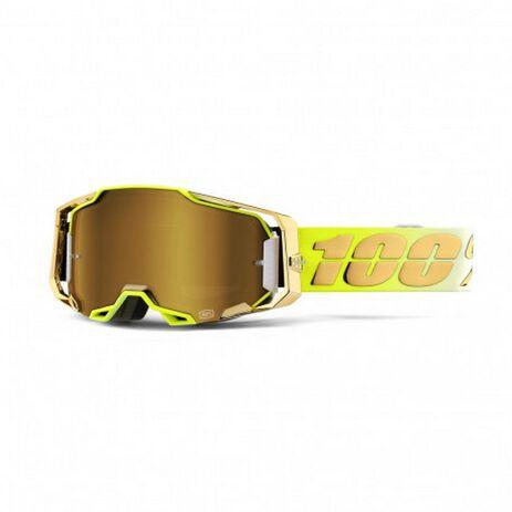 _100% Brillen Armega Verspiegelten Gläsern Feel Good Gold | 50721-253-01-P | Greenland MX_