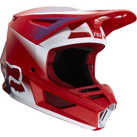 _Fox V2 Vlar Helm Flame Red   24264-122   Greenland MX_