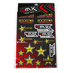 _Rockstar 4MX Aufkleber Set | 01KITA606R | Greenland MX_