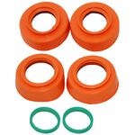 _4MX Radlager Protektor Kit KTM EXC/EXC-F 16-.. SX/SX-F 15-.. Husqvarna 14-.. Orange | 4MX-BP-02-OR | Greenland MX_