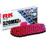 _Super Verstärkt Kette RK 520 MXZ4 120 Glieder Rot | TC-RKMXZ4RD | Greenland MX_