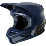 _Fox V1 Special Edition Helm Navy/Gold | 24287-156 | Greenland MX_
