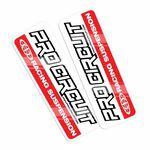 _Pro Circuit Standard Gabelschutz Aufkleber | DCFD-RED | Greenland MX_