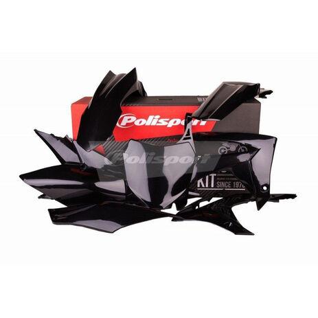 _Polisport Plastik Kit Honda CRF 250 R 14-17 CRF 450 R 13-16 Schwarz | 90562 | Greenland MX_